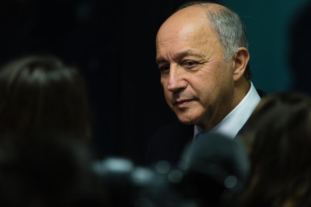 Laurent Fabius, Außenminister Frankreichs